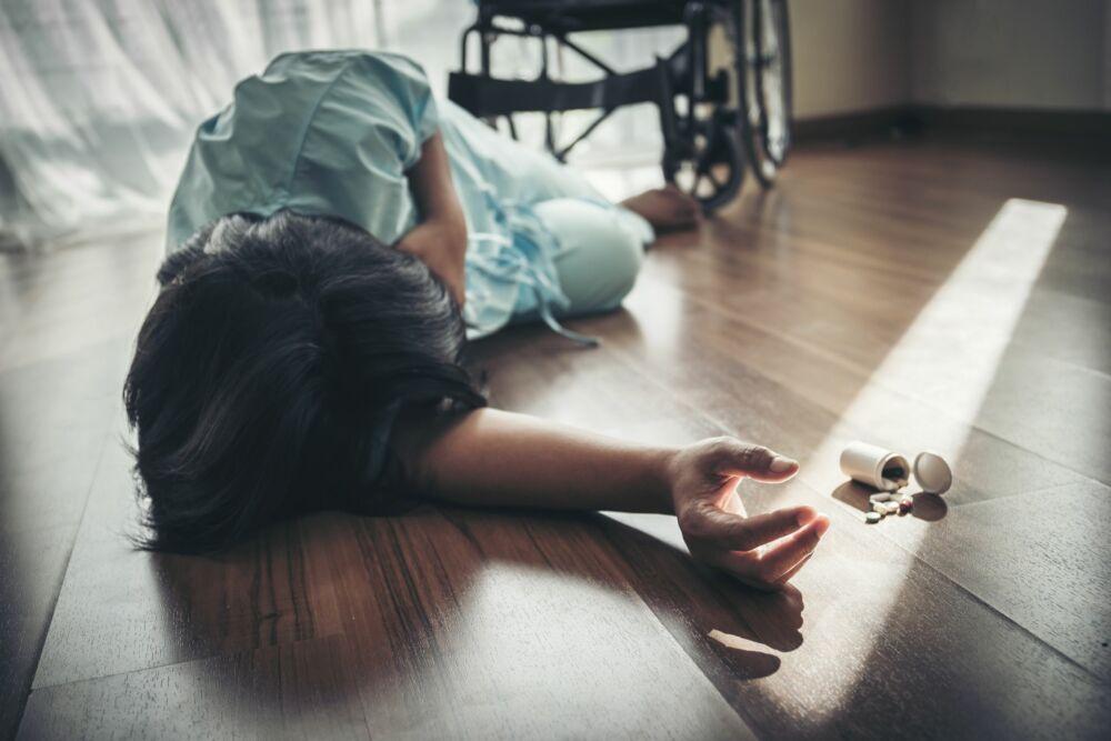 X-Guard Zorg – Vrouw uit rolstoel gevallen