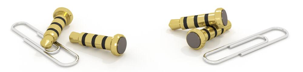 Headset alarmknop met paperclip – 01 Breed