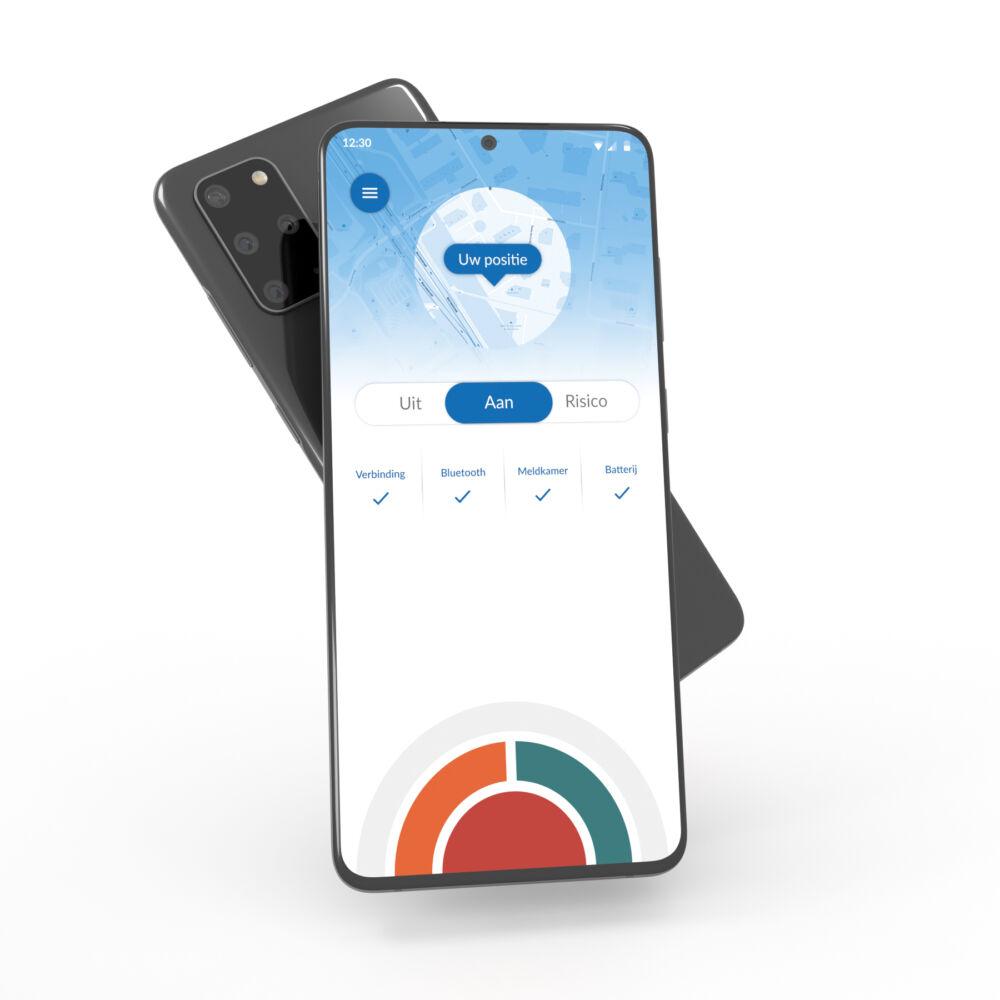 Android telefoon met app